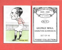Hamilton Academicals George Wall 13 (FC)